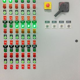 Industrial Control Panel for Pumps & Blowers – Lobster Holding Tanks